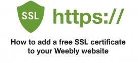Les avantages d'un certificat SSL avec un site Weebly