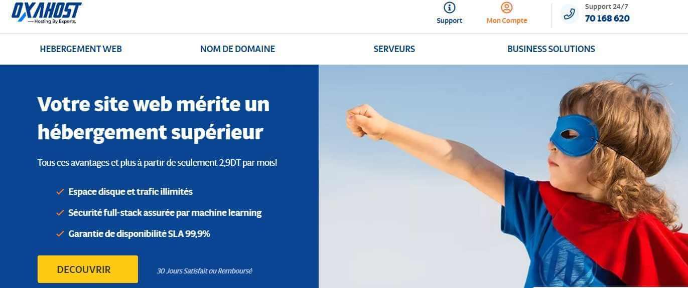 Hébergeur site Web Pas Cher