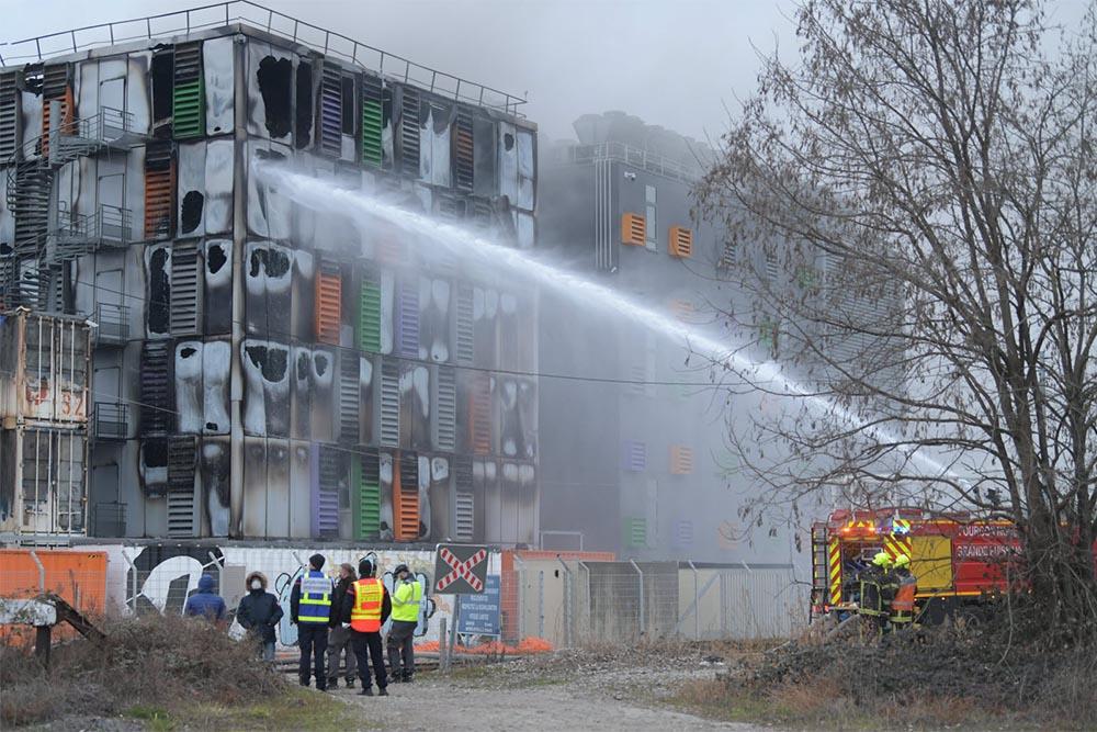 Un incendie dans le Data Center d'OVH Strasbourg détruit des milliers de sites